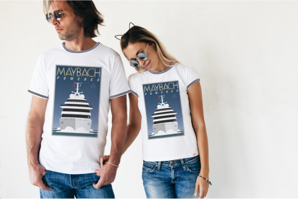 Couple Yacht White